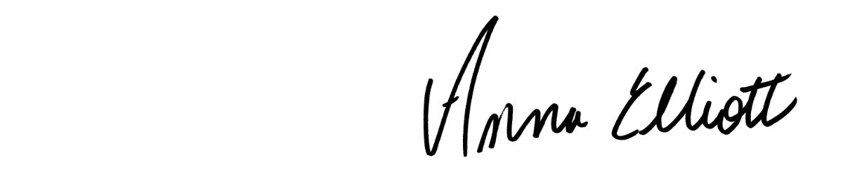 Anna Elliott signature